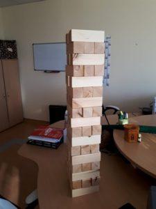 óriás jenga játék
