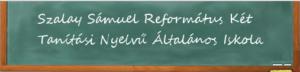 Szalay Sámuel Református Két Tanítási Nyelvű Általános Iskola logója