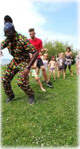 Szilveszteri műsor Afrikai Táncos Konga Show